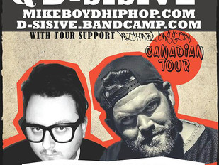 Sudbury, ON - MIKE BOYD & D-SISIVE CANADIAN TOUR!
