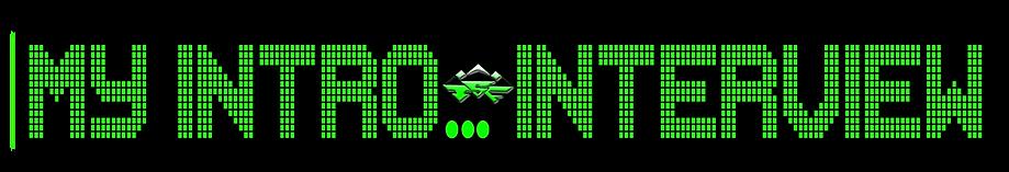 my intro logo
