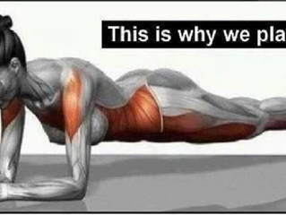 This is why we Plank