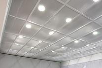 Isolamento acustico con illuminazione integrata