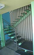 Dettaglio architettonico in edificio moderno