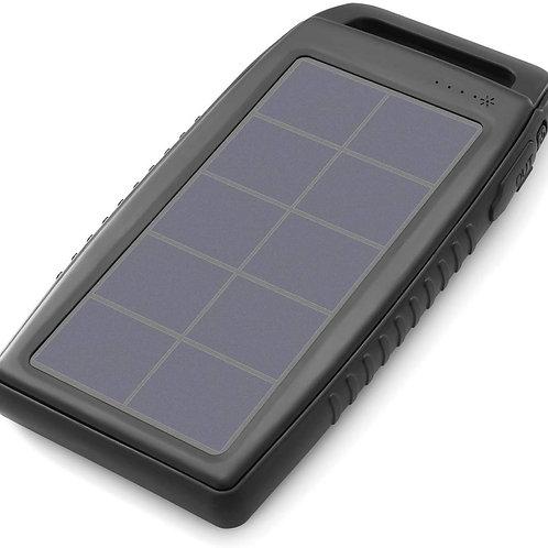 Nekteck Solar Charger 10000mAh Rain-Resistant Dirt/Shockproof Dual USB Port Port