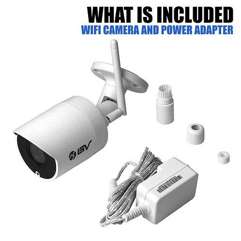 BV 4MP(2688 x 1520P) 2K H.265 IP67 Weatherproof WiFi Wireless Outdoor IP Securit