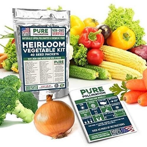Pure Pollination Non GMO Heirloom Vege
