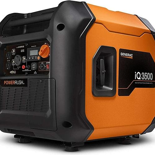 Generac 7127 iQ3500-3500 Watt Portable Inverter Generator Quieter Than Honda, Or
