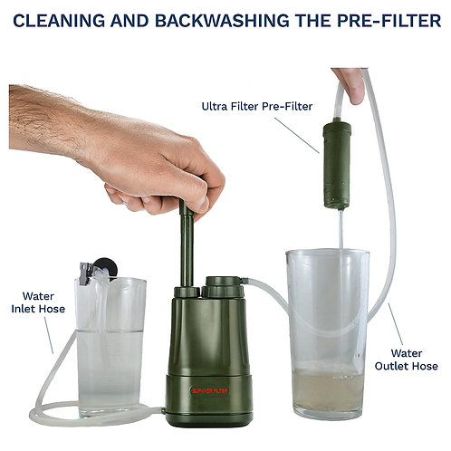 Survivor Filter PRO – Virus and Heavy Metal Tested 0.01 Micron Portable Water Fi