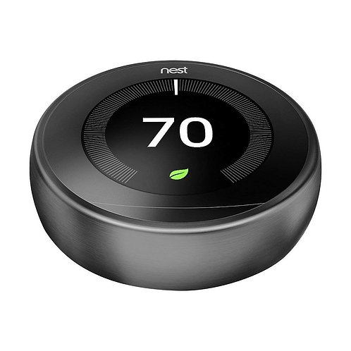 Nest (T3007ES) Learning Thermostat, Easy Temperature Control for Every Room in Y