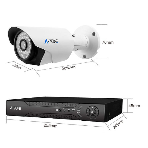 A1080P DVR 4 x 960P HD Waterproof Night Vision Indoor/Outdoor Home CCTV Video