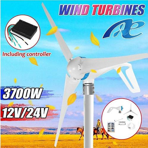 2500-3700W Latern Type DC Hoop Wind Generator, 12/24 V Low Starting Wind Speed
