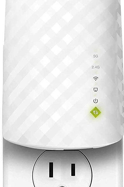 TP-Link AC750 WiFi Extender (RE220), Covers Up to 1200 Sq.ft and 20 Devices, Up