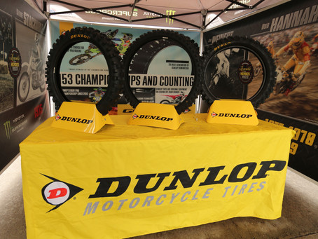 We are the American Worker, We Are Dunlop Motorcycle Tires.