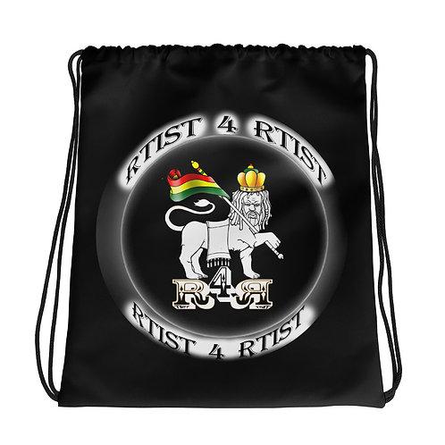 R4R Drawstring bag BLK