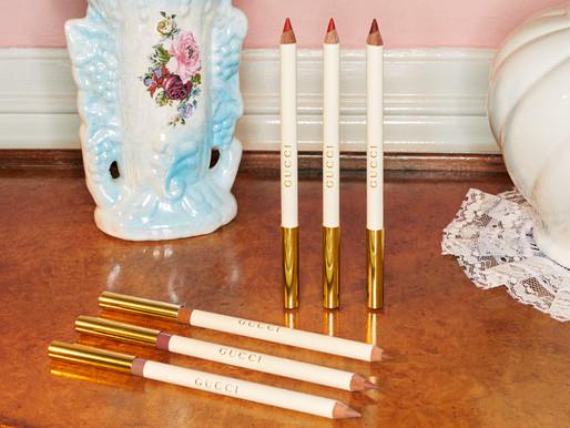 Gucci Beauty 首推唇線筆、眼線筆!呈現80年代的美學