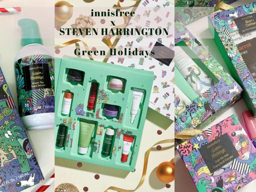 innisfree聯乘Steven Harrington 打造 Green Holidays綠色聖誕限量系列