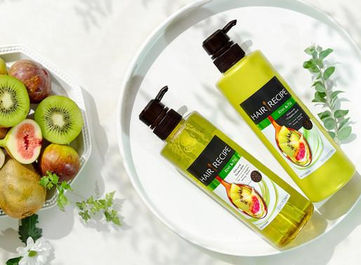 日本Hair Recipe 奇異果洗頭水 打造夏日清爽蓬鬆感