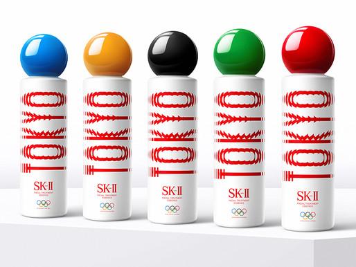 東京奧運應援!SK-II神仙水換上五環顏色「Tokyo」字樣