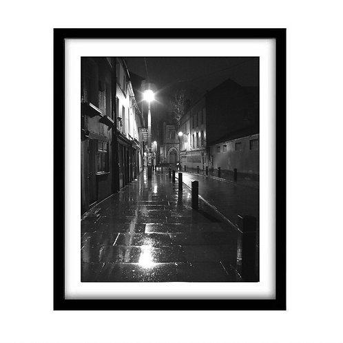 Rainy Evening In Cork, Ireland
