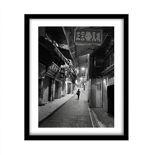 Macau at night.