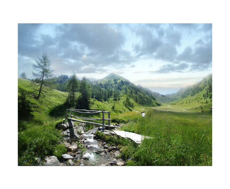 Valtigltal, Ridnaun, Wipptal, Südtirol.