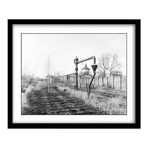 Abandoned Train Yard Berlin