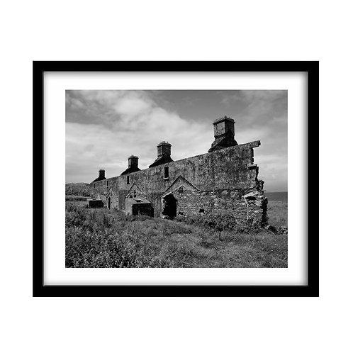 Ruins, Ring of Kerry, Ireland.
