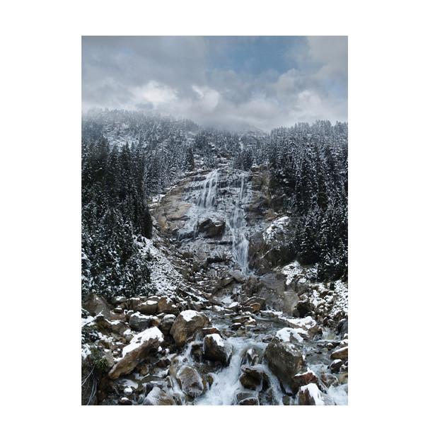 Grawa waterfall, Stubaital, Tirol.