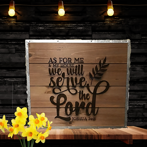Personalized Sign - Bible Verse or Custom