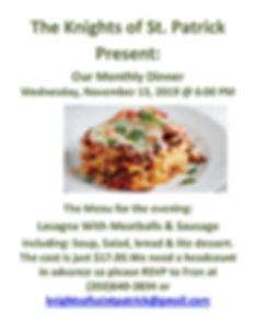 KOSP Dinner Lasagna 11-13-19 .jpg