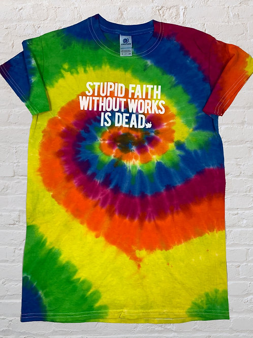 Faith Tie Dye for!