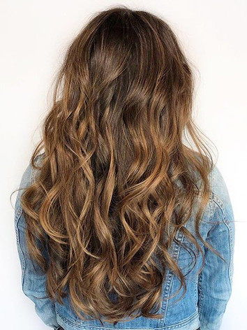 i'm obsessed with using balayage on my b