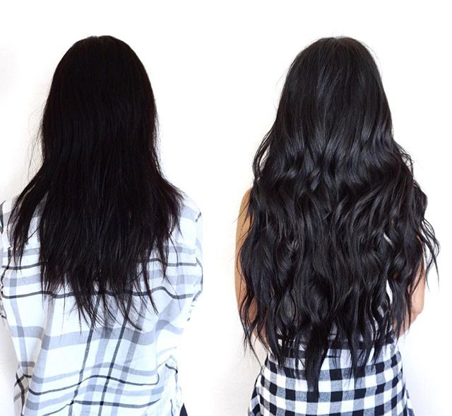 you guys, THAT'S MY HAIR_•••_the left is