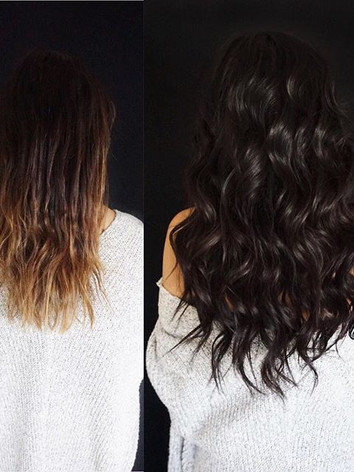 the magic of HAND TIED EXTENSIONS🔮⠀_...