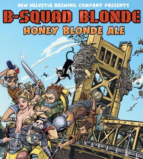 B-Squad Blonde Ale