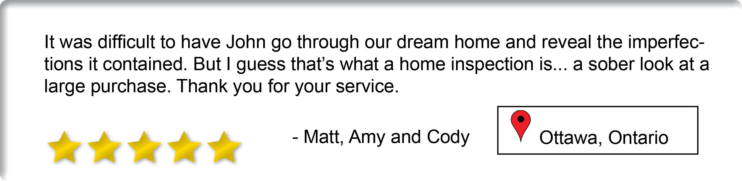 Matt, Amy and Cody