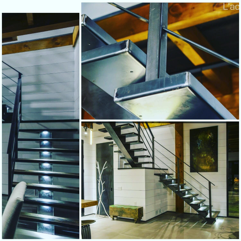 Montage - Escalier sur mesure Manitou