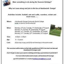 Summer Holiday Camp 2017