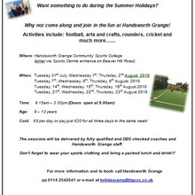 Summer Holiday Camps 2018