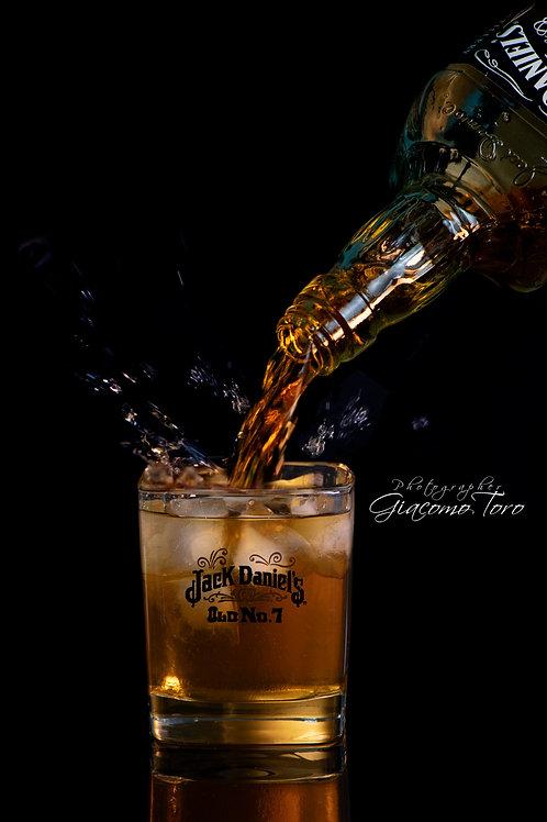 still life Jaek Daniels bicchiere