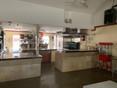 Community kitchen.