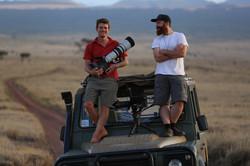 """Filming """"Kenya Wildlife Diaries"""""""
