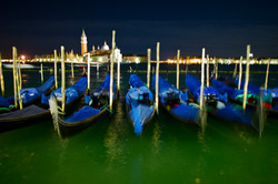 Gondolas In The Night