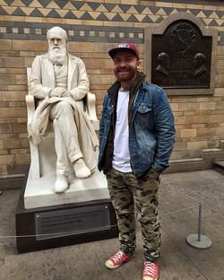 Charles Darwin and Martin Buzora