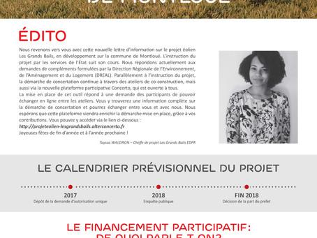 PROJET ÉOLIEN LES GRANDS BAILS DE MONTLOUÉ #2