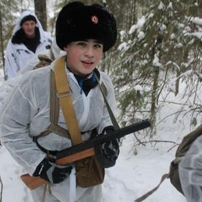 Военно-полевой выход, посвящённый подвигу воинов-сибиряков в годы Великой Отечественной Войны