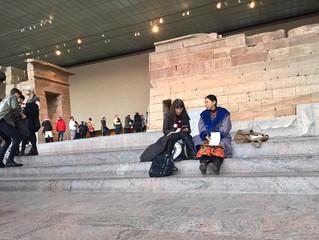 メト美術館で初ミーティング