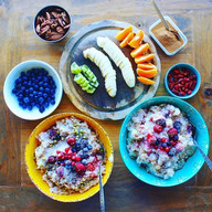 Brown Rice And Millet Breakfast