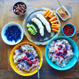 Brown Rice and Millet Porridge