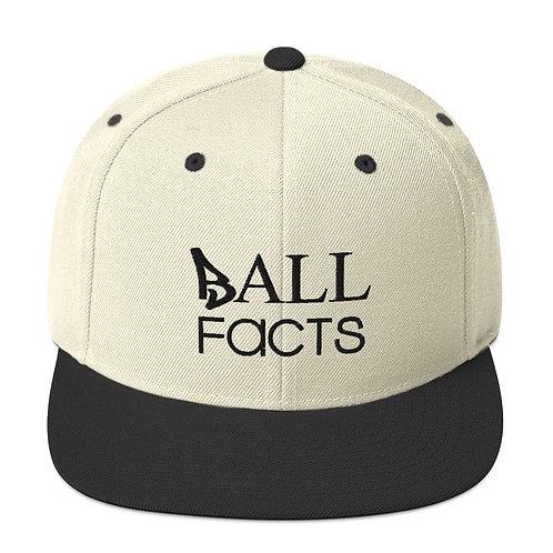 Black Bill Ball Facts Hat