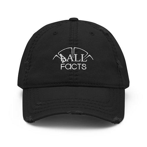 Distressed Ball Facts Hat