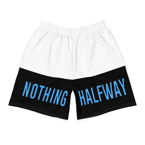 NOTHING HALFWAY Men's Athletic Long Shorts